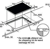 Neff T55T86X2 kookplaat inductiekookplaat T 55T86X2 T 55 T 86 X 2