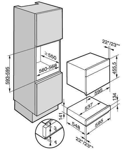 miele esw6214cs lade warmhoudlade esw 6214 esw6214 esw 6214 cs. Black Bedroom Furniture Sets. Home Design Ideas