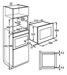 Zanussi ZSG25224XA microgolfoven microgolven met grill (inbouw) ZSG 25224 ZSG25224 ZSG 25224 XA
