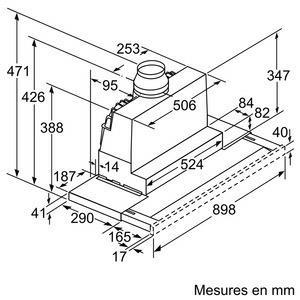 siemens li97ra540 dampkap telescopische dampkappen li. Black Bedroom Furniture Sets. Home Design Ideas