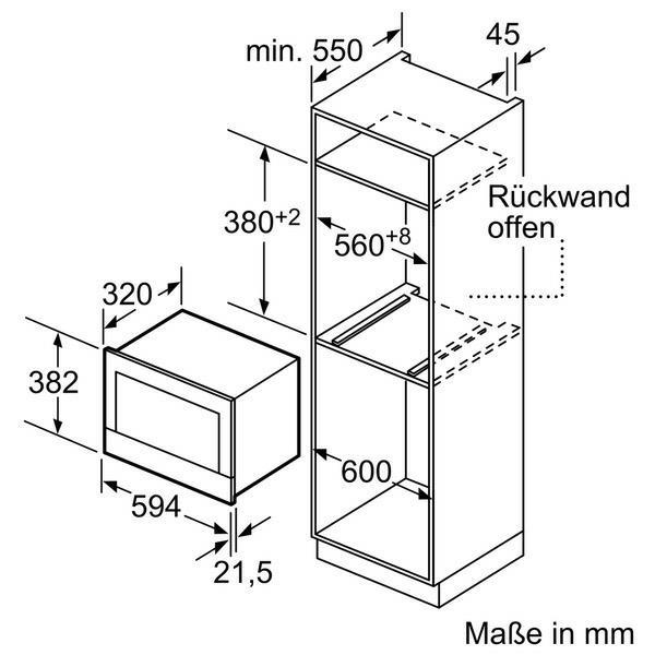 Neff C17WR01N0 microgolfoven enkel microgolven (inbouw) C 17WR01N0 C 17 WR 01 N 0