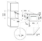 Whirlpool AMW812IXL microgolfoven enkel microgolven (inbouw) AMW 812 AMW812 AMW 812 IXL