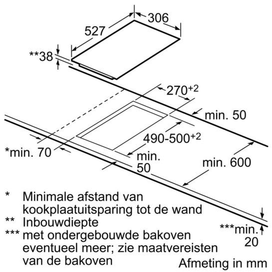 Bosch PKF375FP1E kookplaat elektrisch