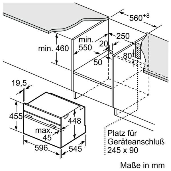 Neff C17UR02N0 microgolfoven enkel microgolven (inbouw)