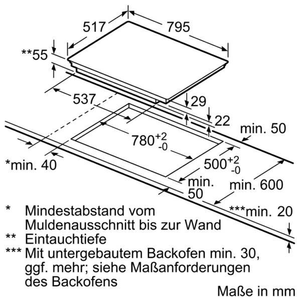 Neff T58BD20N0 kookplaat inductiekookplaat