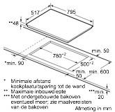 Neff T18BD36N0 kookplaat inductiekookplaat