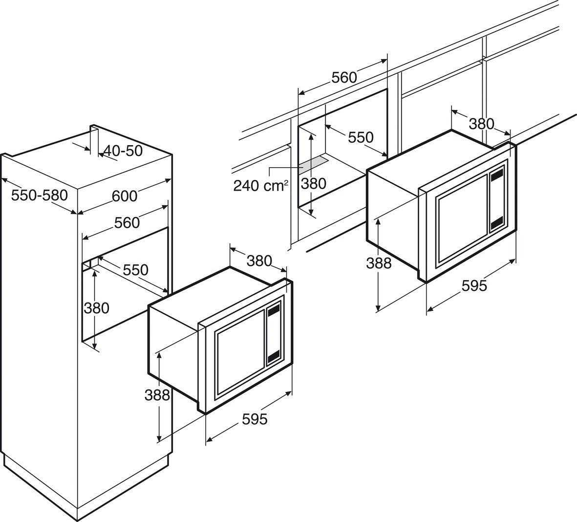 Whirlpool Promotoren AMW4931IX microgolfoven microgolven met grill (inbouw)