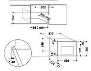 Bauknecht Promotoren EMNK32138IN microgolfoven enkel microgolven (inbouw)