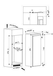 Bauknecht KVIF3184A koelkast inbouw met vriesvak
