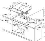 Bosch PXX801D34E kookplaat inductiekookplaat