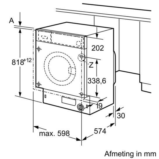 Siemens WI14W540EU wasmachine