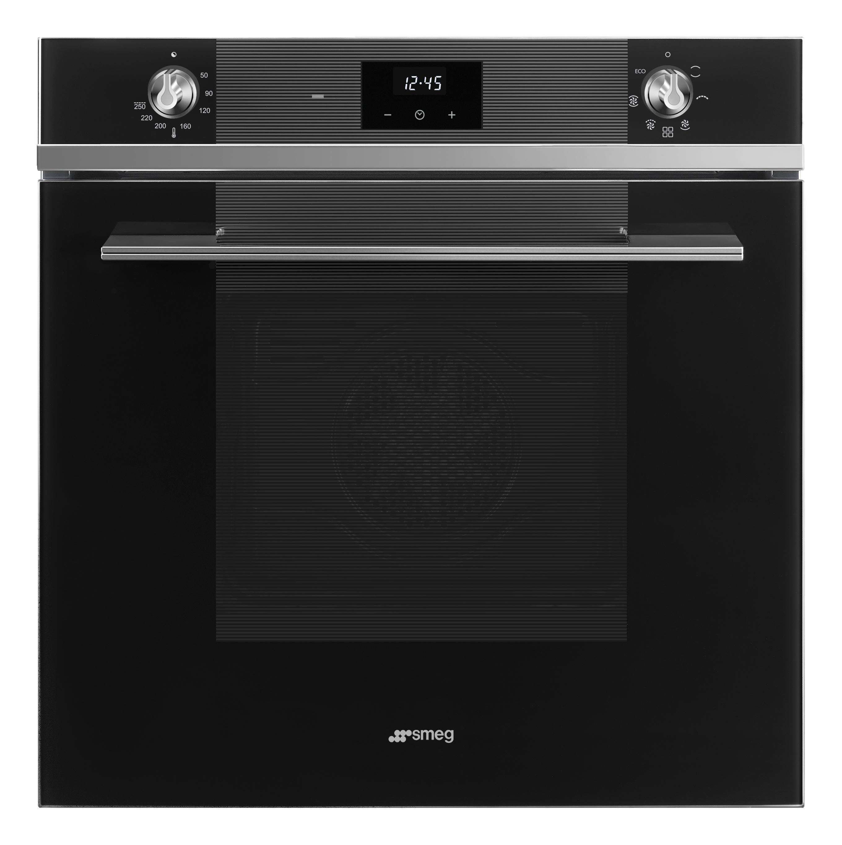 60 cm, Multifunctionele oven, 70 l, Vapor Clean, DIGIscreen display, Chroom handgreep en knopjes