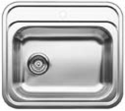spoelbak zijdeglans Blanco-P 514646 spoelbak zijdeglans