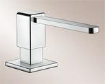 zeepdispenser inbouw Blanco-S 517585 zeepdispenser inbouw