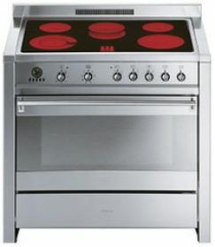 fornuis vitrokeramisch (kookplaat ) + elektrisch (oven) smeg A1C7 fornuis vitrokeramisch (kookplaat ) + elektrisch (oven) A 1C7 A 1 C 7