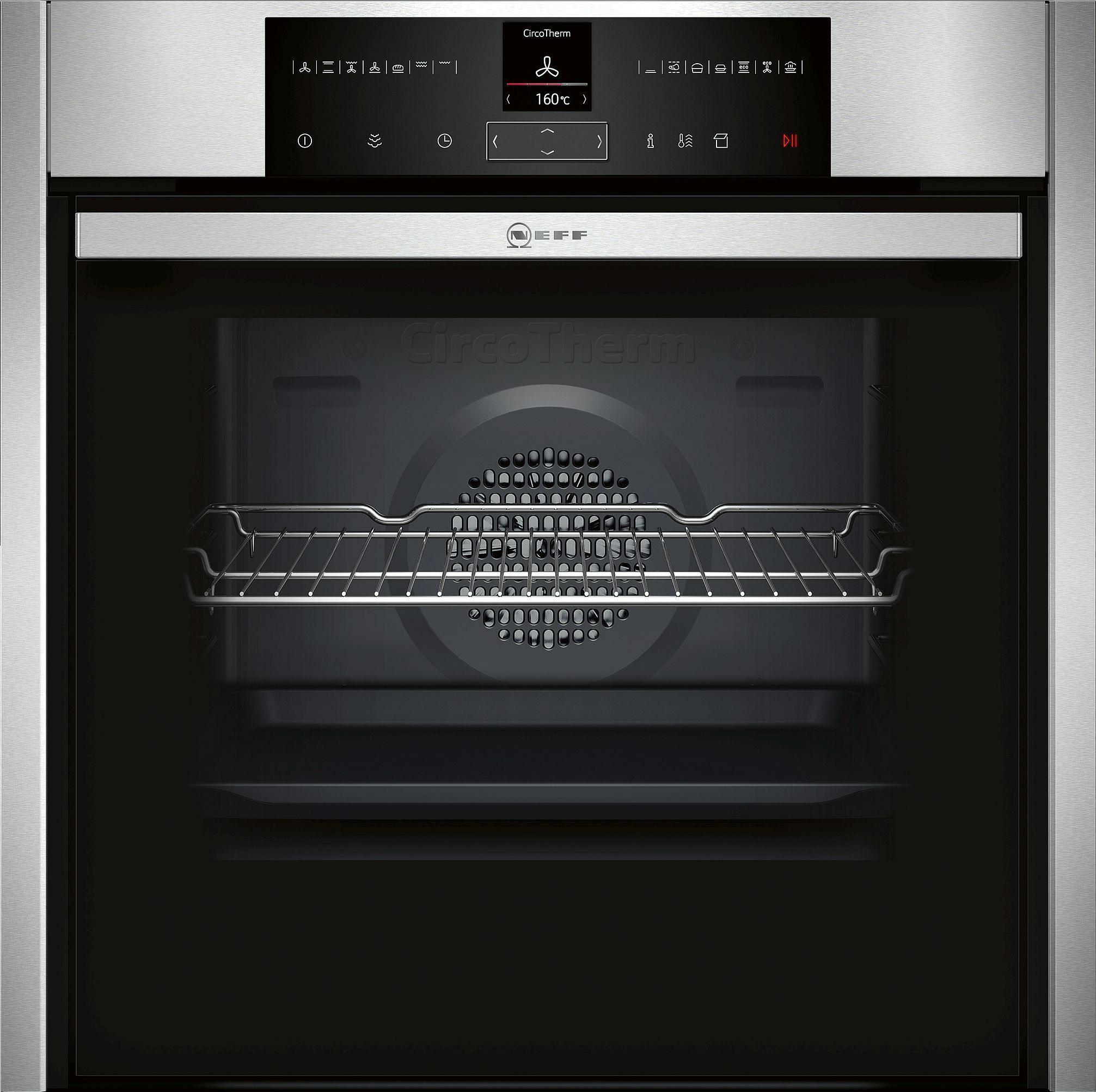 oven multifunctie + stoom Neff B45VR22N0 oven multifunctie + stoom