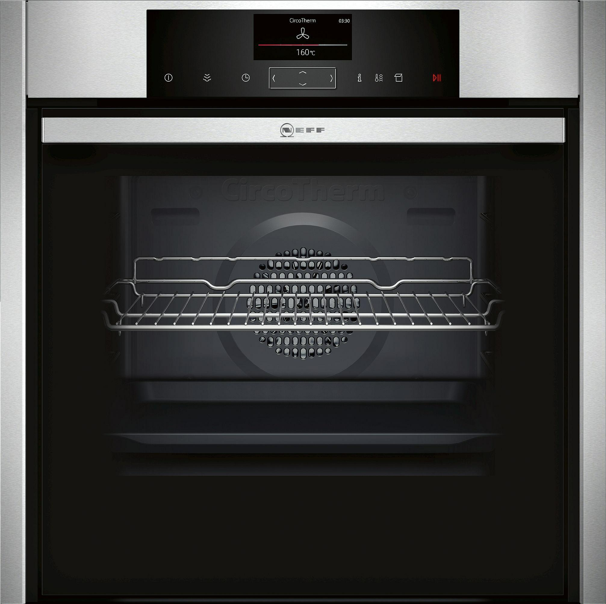 oven multifunctie + stoom Neff B55VS24N0 oven multifunctie + stoom