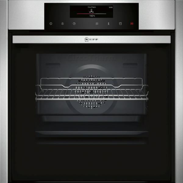 oven multifunctie + stoom Neff B56VT62N0 oven multifunctie + stoom