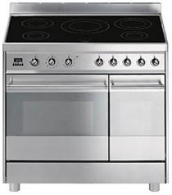 fornuis inductie (kookplaat) + elektrisch (oven) Smeg Vrijstaand C92IPX8 fornuis inductie (kookplaat) + elektrisch (oven) C 92IPX8 C 92 IPX 8