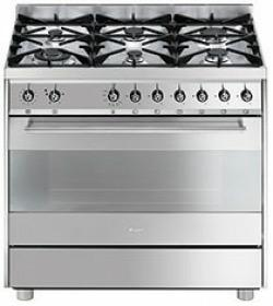 fornuis gas (kookplaat + oven) smeg C9GVXBE1 fornuis gas (kookplaat + oven) C 9GVXBE1 C 9 GVXBE 1