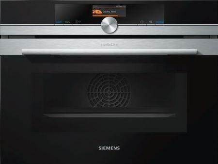 siemens studioline cm876gbs1 oven multifunctie microgolven. Black Bedroom Furniture Sets. Home Design Ideas