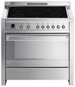 fornuis inductie (kookplaat) + elektrisch (oven) Smeg Vrijstaand CS19ID7 fornuis inductie (kookplaat) + elektrisch (oven) CS 19ID7 CS 19 ID 7
