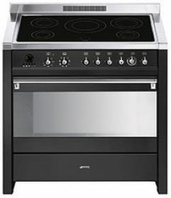 fornuis inductie (kookplaat) + elektrisch (oven) Smeg Vrijstaand CS19IDA7 fornuis inductie (kookplaat) + elektrisch (oven) CS 19IDA7 CS 19 IDA 7