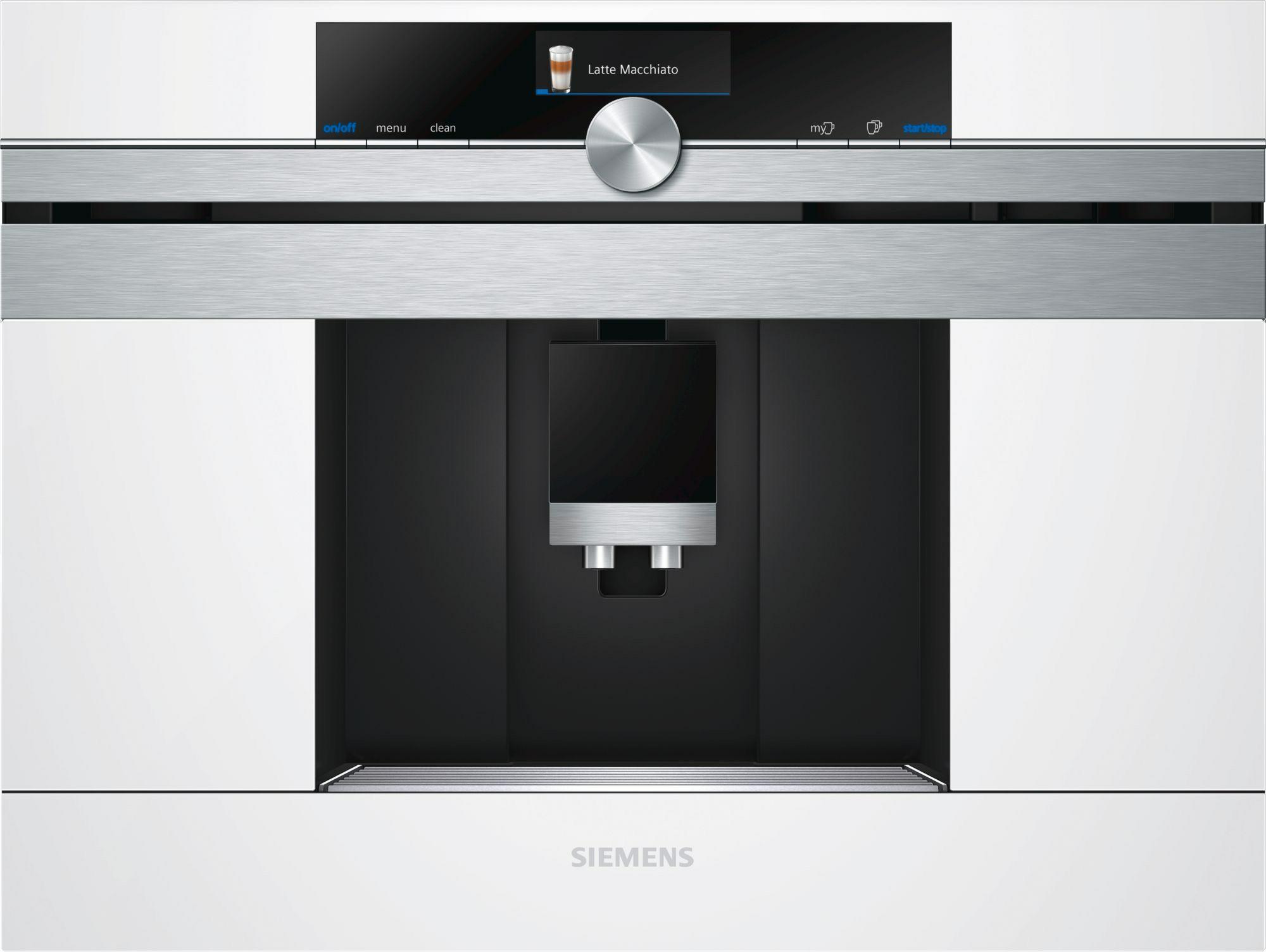 espressomachine Siemens CT636LEW1 espressomachine volautomaat CT 636LEW1 CT 636 LEW 1
