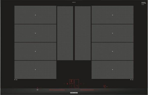Siemens EX875LYC1E kookplaat inductiekookplaat EX 875LYC1 EX875LYC1 EX 875 LYC 1 E