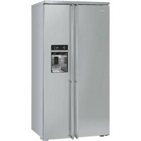 side-by-side koelkast vrijstaand Smeg Vrijstaand FA63X side-by-side koelkast vrijstaand FA 63 FA63 FA 63 X