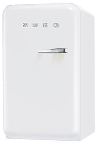 koelkast vrijstaand met vriesvak Smeg-50 FAB10LB koelkast vrijstaand met vriesvak