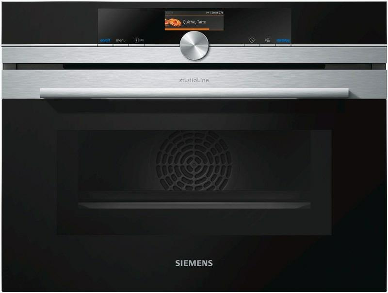 siemens studioline hm836gps1 oven multifunctie microgolven. Black Bedroom Furniture Sets. Home Design Ideas