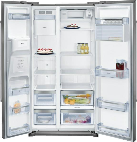 side-by-side koelkast Neff Vrijstaand KA3902I20 side-by-side koelkast vrijstaand KA 3902I20 KA 3902 I 20