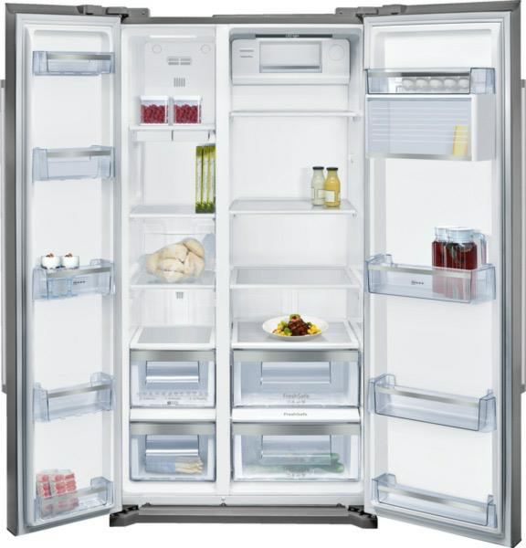 side-by-side koelkast vrijstaand Neff Vrijstaand KA7902I30 side-by-side koelkast vrijstaand KA 7902I30 KA 7902 I 30