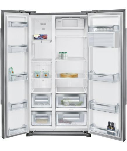 side-by-side koelkast Siemens KA90NVI20 side-by-side koelkast vrijstaand KA 90NVI20 KA 90 NVI 20