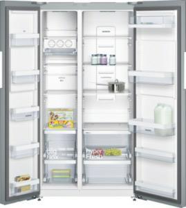 side-by-side koelkast Siemens KA92NVI35 side-by-side koelkast vrijstaand KA 92NVI35 KA 92 NVI 35