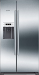 side-by-side koelkast Bosch KAD90VI20 side-by-side koelkast vrijstaand KAD 90VI20 KAD 90 VI 20