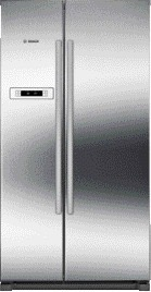 side-by-side koelkast Bosch KAN90VI20 side-by-side koelkast vrijstaand KAN 90VI20 KAN 90 VI 20