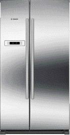side-by-side koelkast Bosch KAN90VI30 side-by-side koelkast vrijstaand KAN 90VI30 KAN 90 VI 30