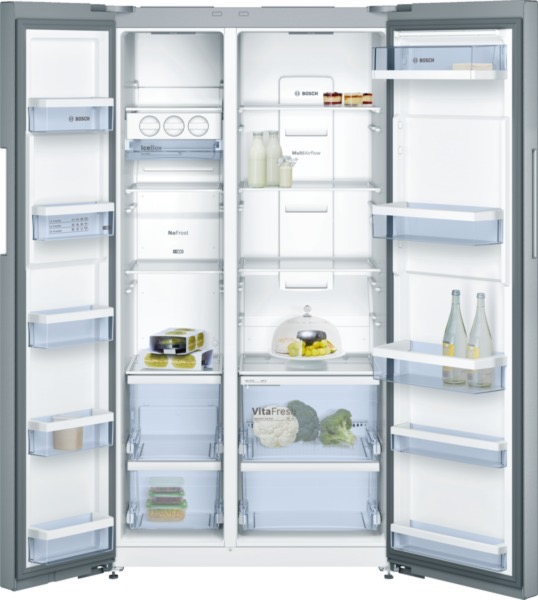 side-by-side koelkast Bosch KAN92VI35 side-by-side koelkast vrijstaand KAN 92VI35 KAN 92 VI 35