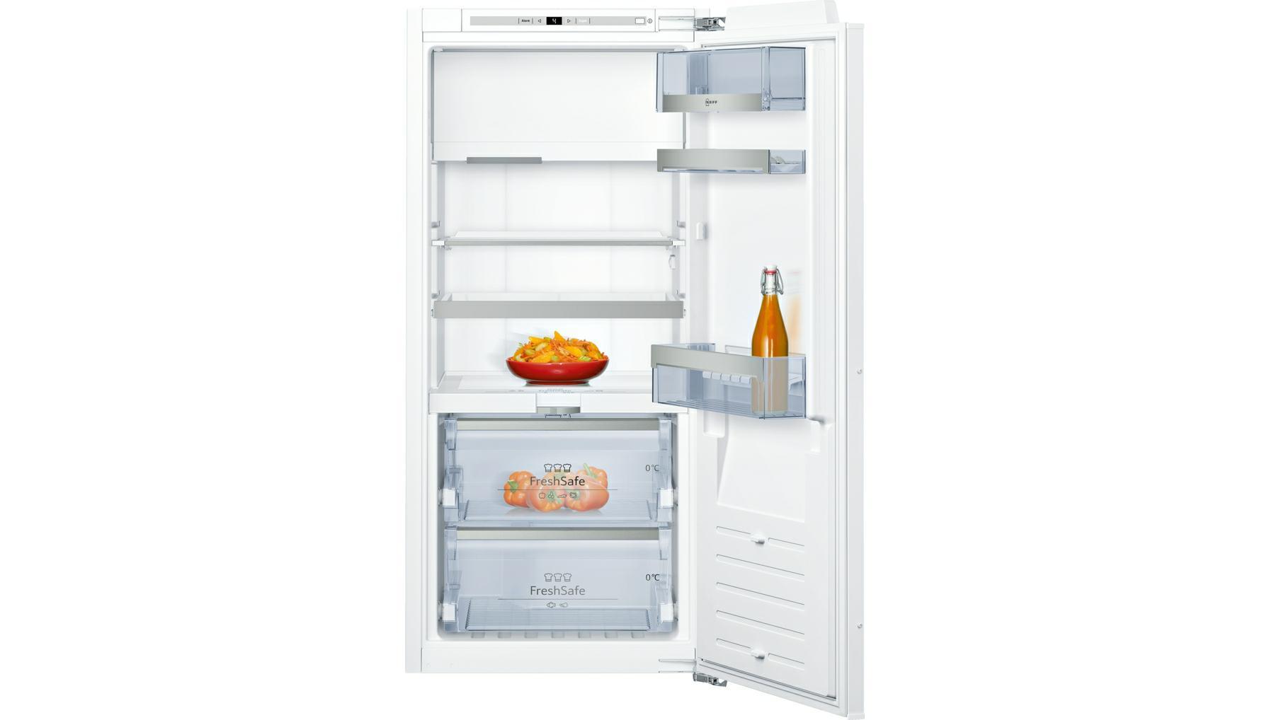 koelkast inbouw met vriesvak Neff KI8423D40 koelkast inbouw met vriesvak