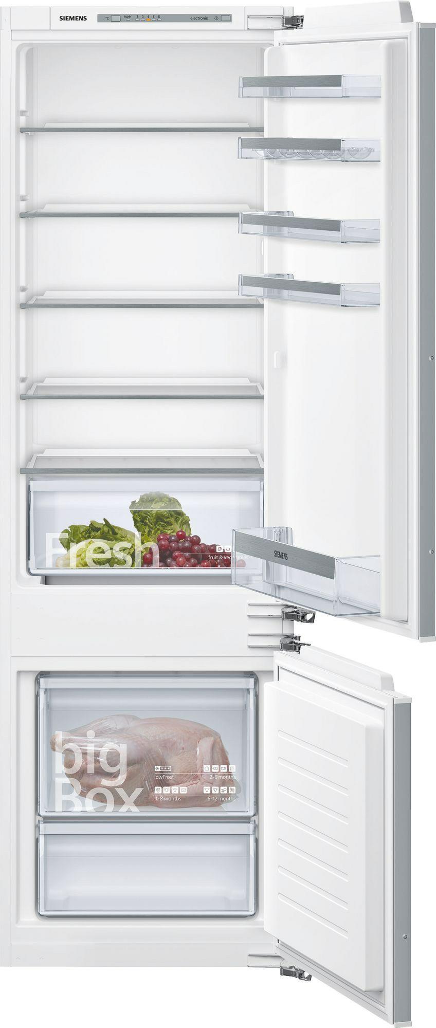 koelkast inbouw met vriesvak Siemens KI87VVF30 koelkast inbouw met vriesvak