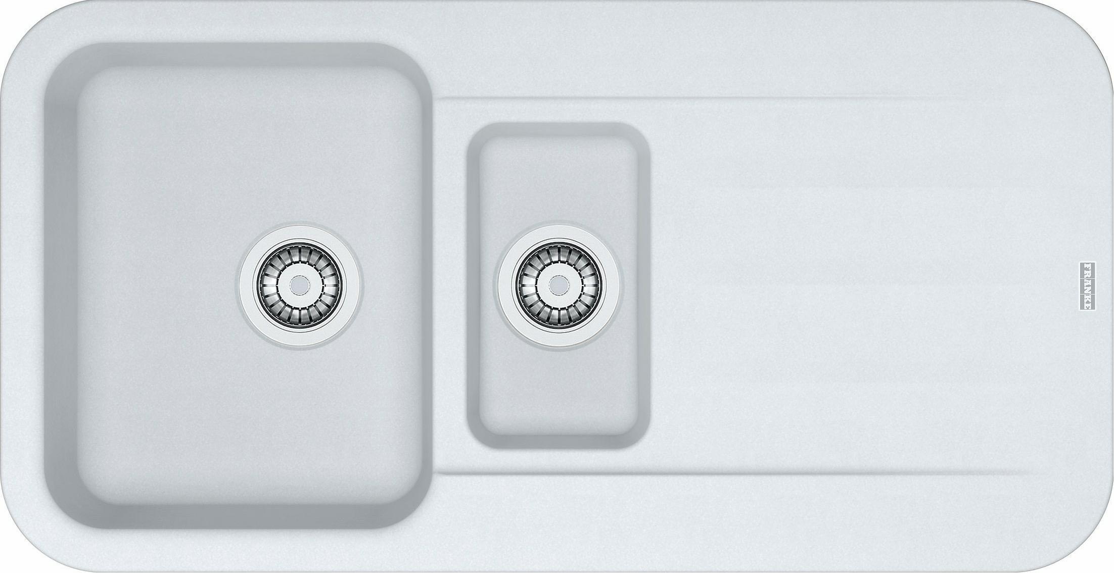 Spoelbak Keuken Zwart : spoelbak kunststof Franke Topklasse PBG651MW1 spoelbak kunststof PBG