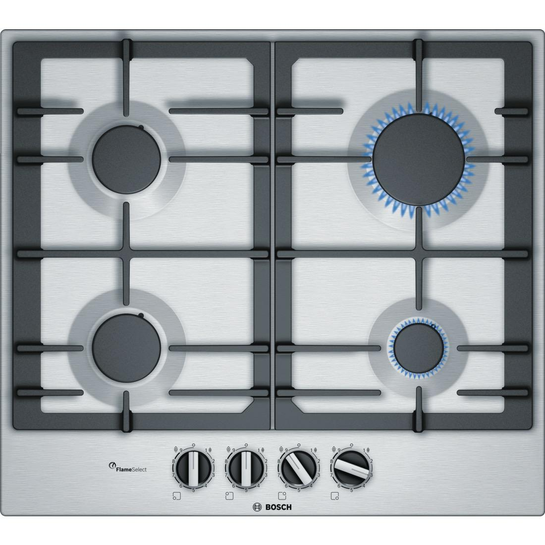 Bosch PCP6A5B90 kookplaat gas