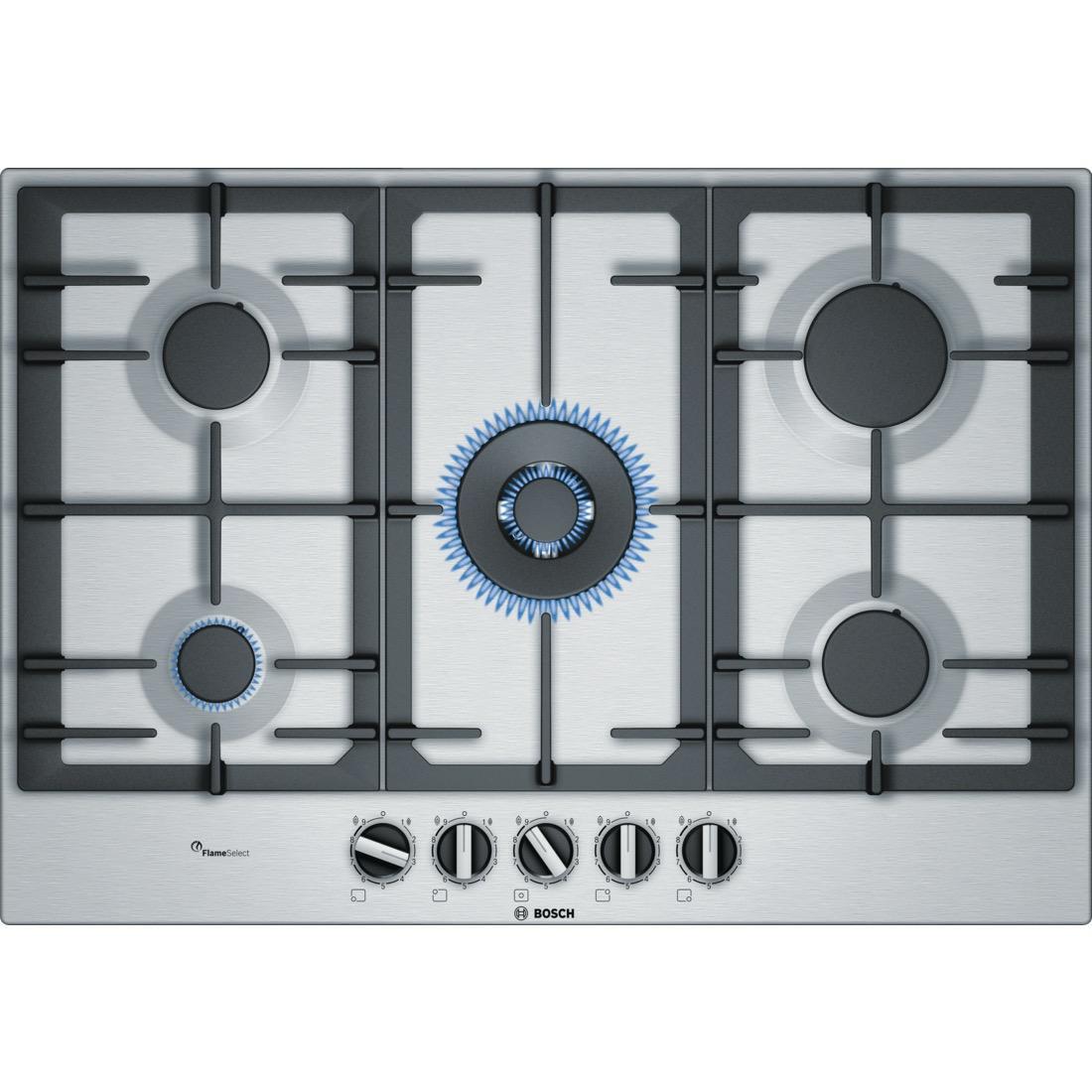 Bosch PCQ7A5B90 kookplaat gas