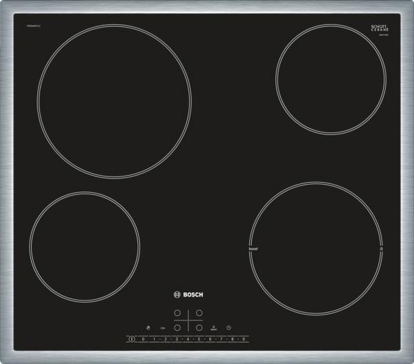 kookplaat inductiekookplaat Bosch PKE645FP1E kookplaat inductiekookplaat
