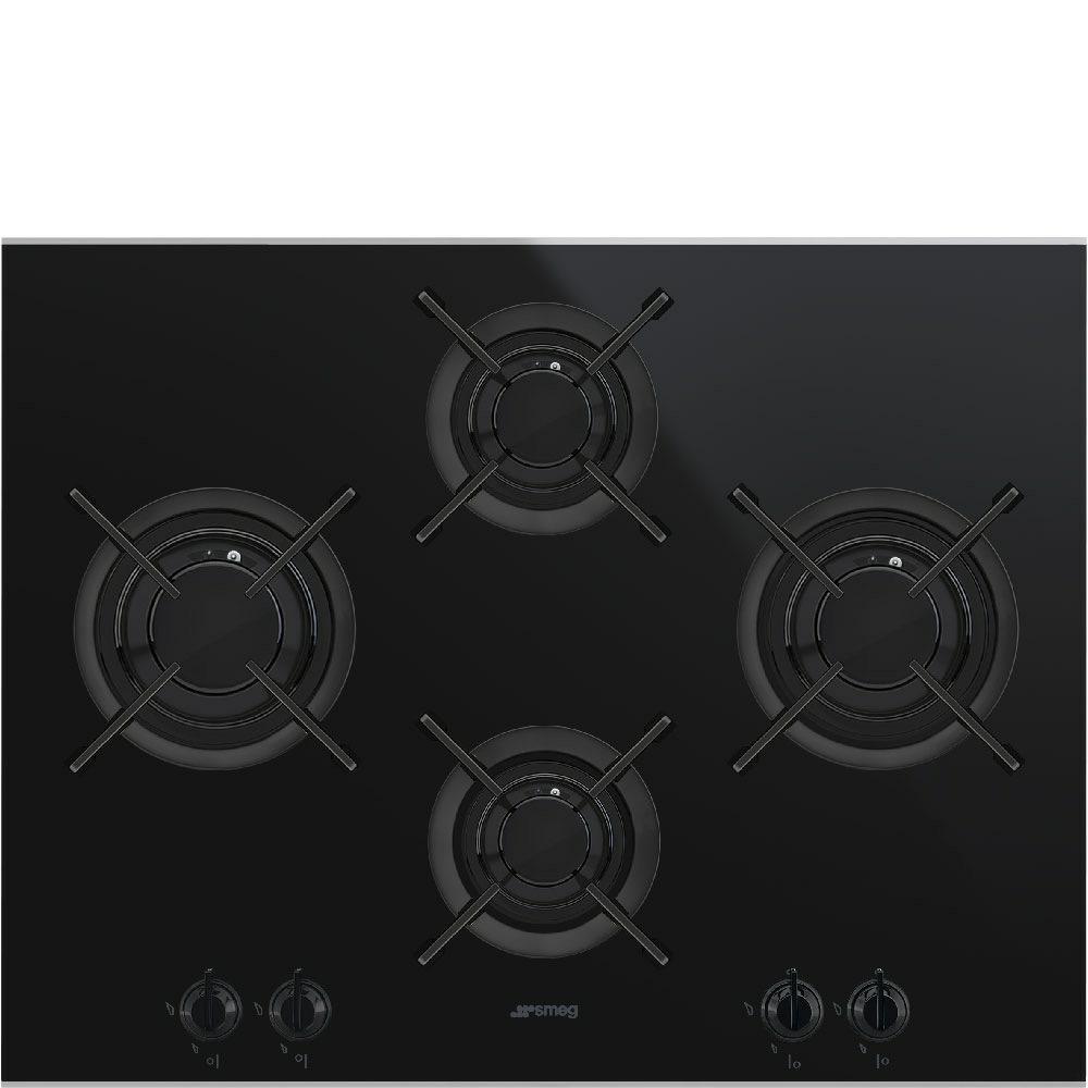 kookplaat gas Smeg PV664LCNX kookplaat gas