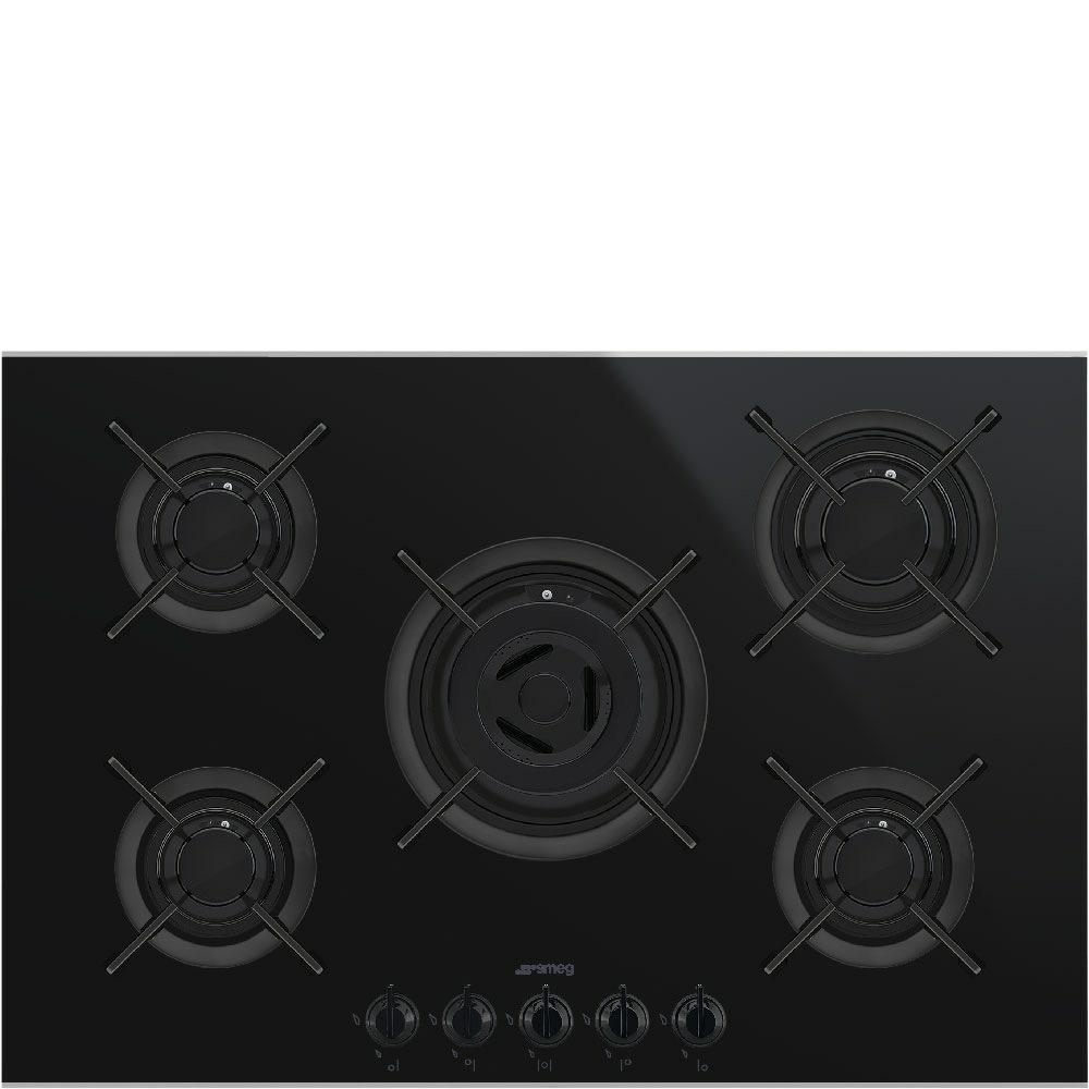kookplaat gas Smeg PV675CNX kookplaat gas