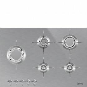 kookplaat gas Smeg PXL675L kookplaat gas