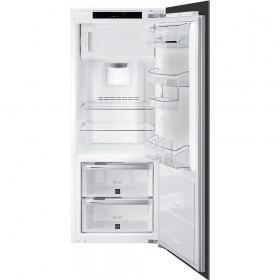 koelkast inbouw met vriesvak Smeg S7C148DF2P koelkast inbouw met vriesvak